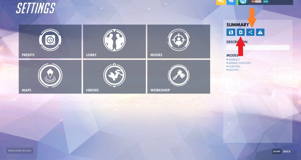 Overwatch Workshop share codes guide PTR