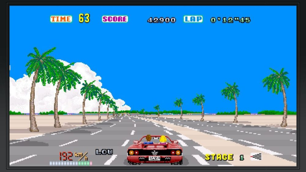 outrun, switch