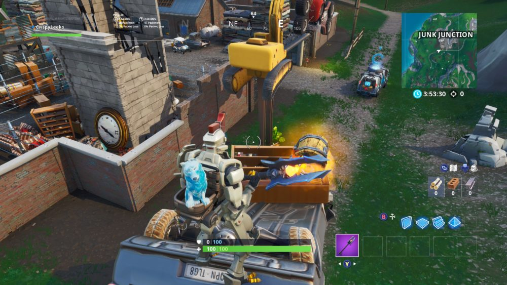 Fortnite Season 9 week 3 secret star location