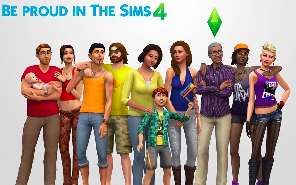 the sims 4, games where you can be gay