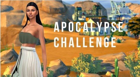 challenges, the sims 4, apocalypse