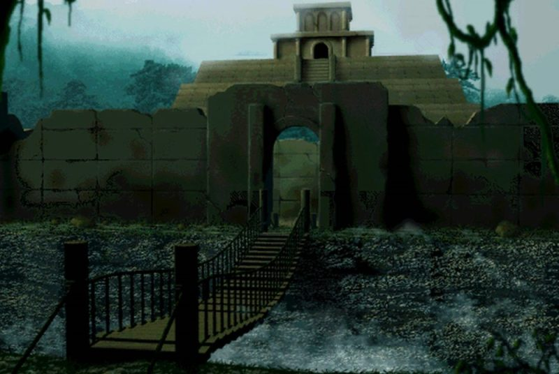 Temple of the Ancients in Final Fantasy VII