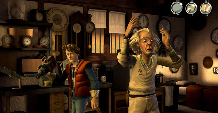 back to the future: the game, telltale games