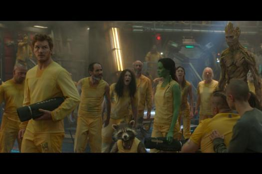 12) Guardians of the Galaxy