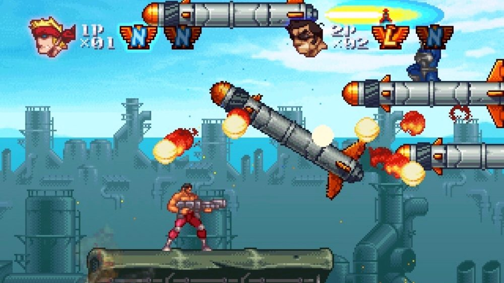 Contra, sidescroller, franchises
