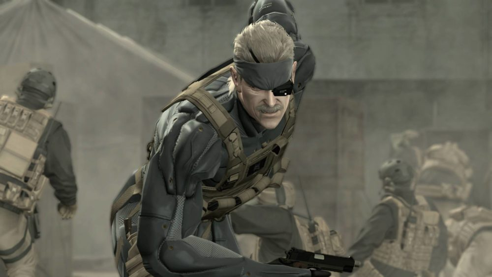 Metal Gear Solid IV: Guns of the Patriot 10 Most Cinematic Video Games