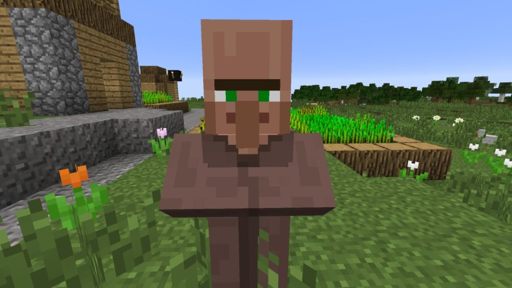 Minecraft: How to Breed Villagers (Version 1.14)