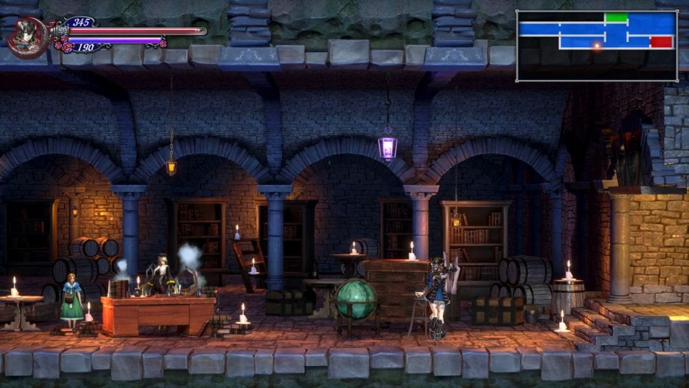 bloodstained, ritual of the night, merchant, dominique, 8 bit coin