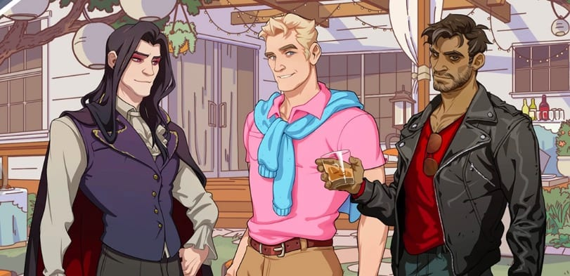 Dream Daddy romance options