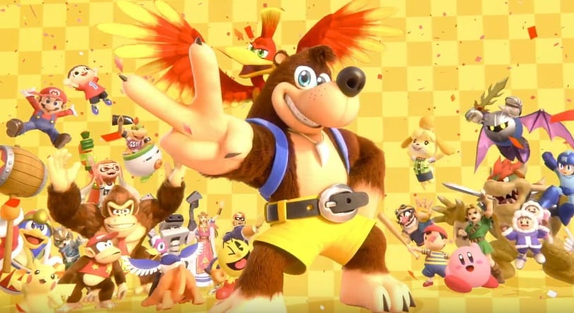 Banjo-Kazooie, Super Smash Bros. Ultimate on Nintendo Switch