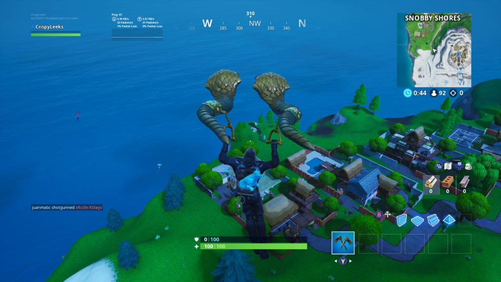 fortbyte 3 western most point