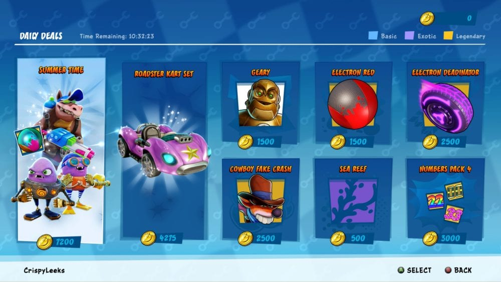 how to unlock character skins in crash team racing nitro fueled