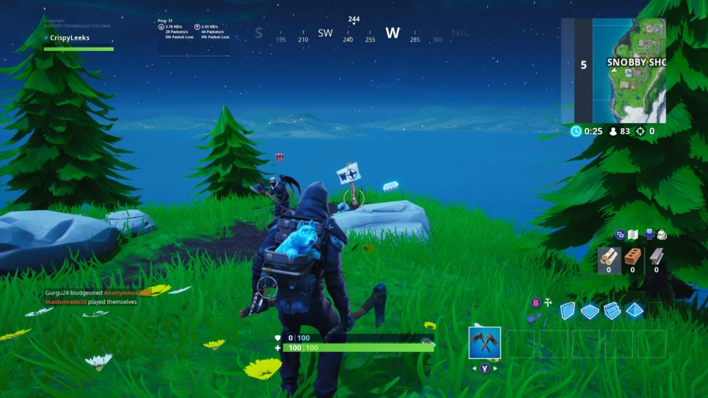 western most point in fortnite