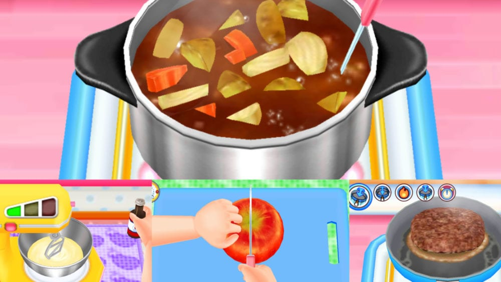 Cooking Mama food cooking