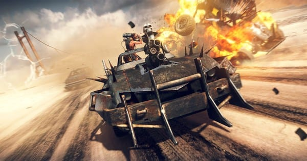 mad max, licensed games