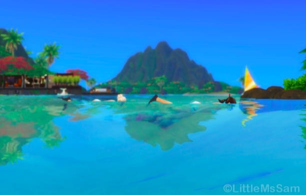 the sims 4 island living mods