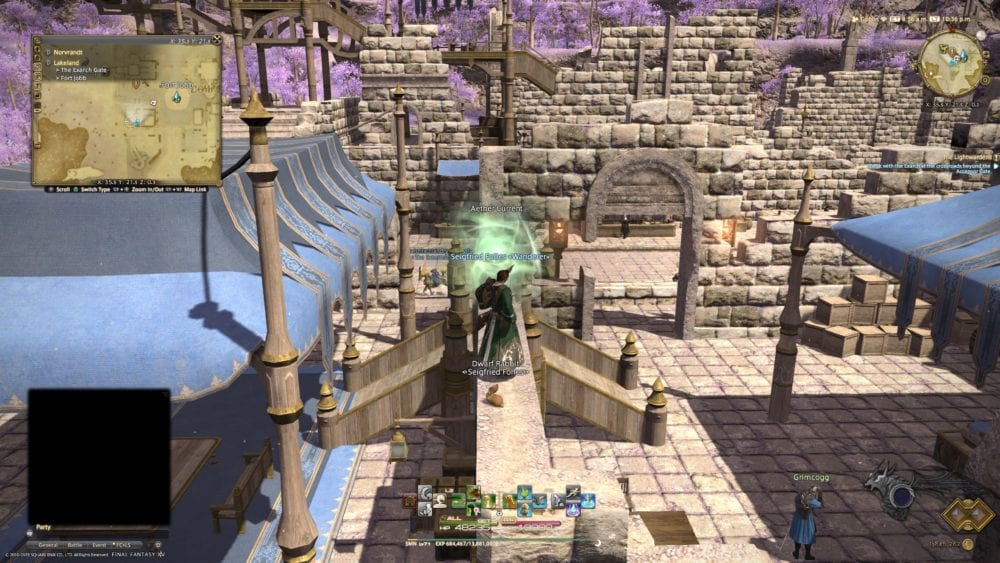 all aether currents, ffxiv, shadowbringers, locations