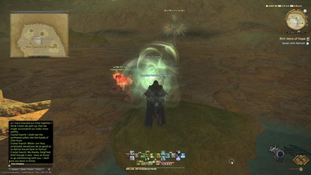FFXIV Shadowbringers: All Aether Current Locations With Photos