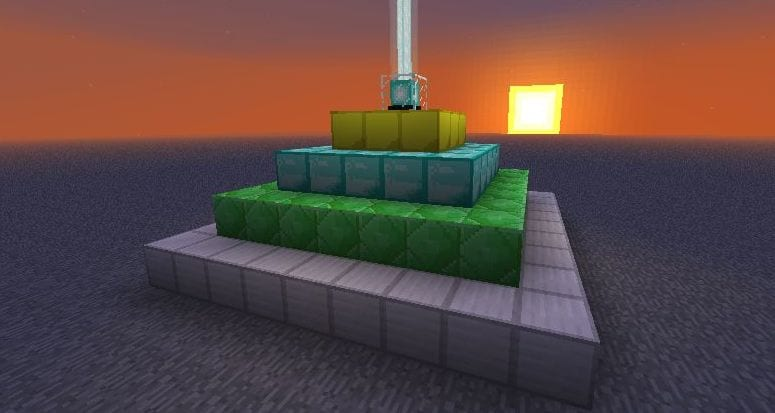 Minecraft: How to Make a Beacon & Use It