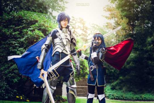 Chrom and Lucina