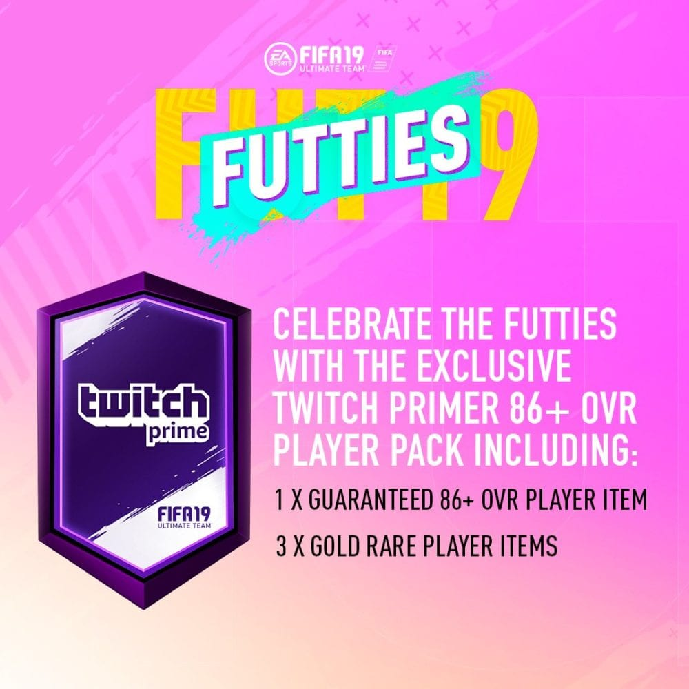 fifa 19, free twitch prime packs