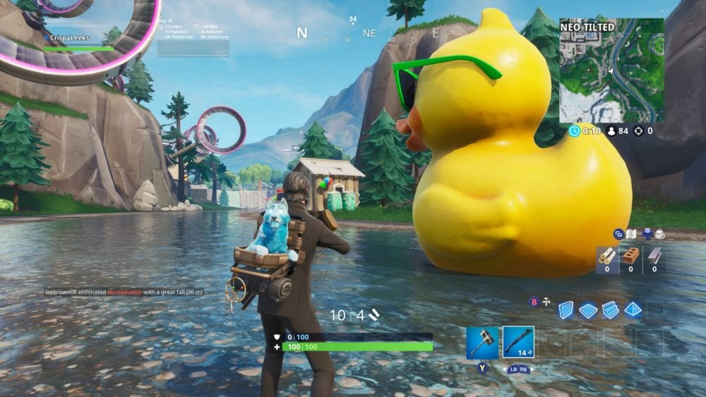 fortnite huge rubber duck