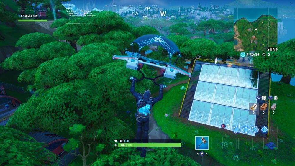 fortnite jungle solar array