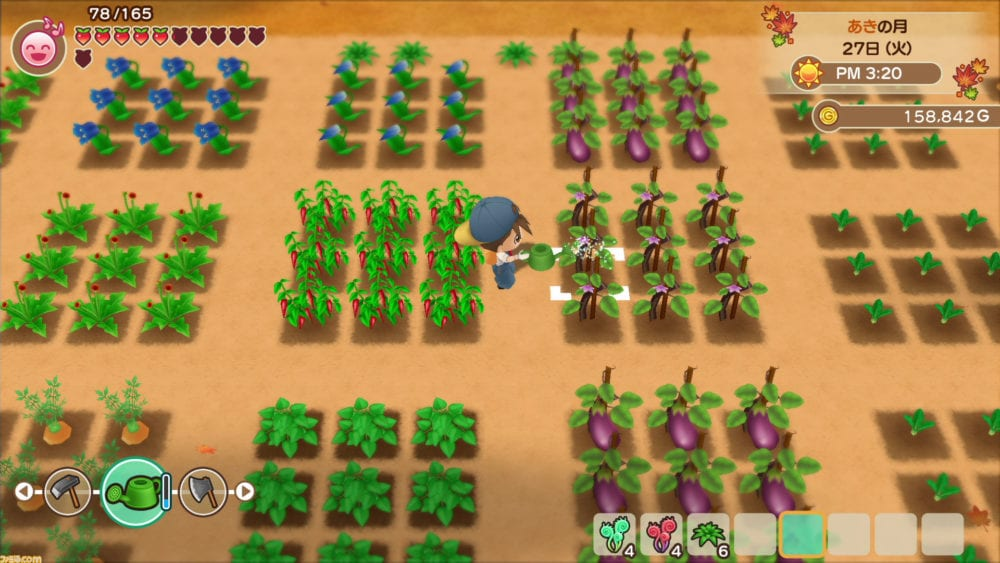 Harvest Moon: Friends of Mineral Town Switch remake