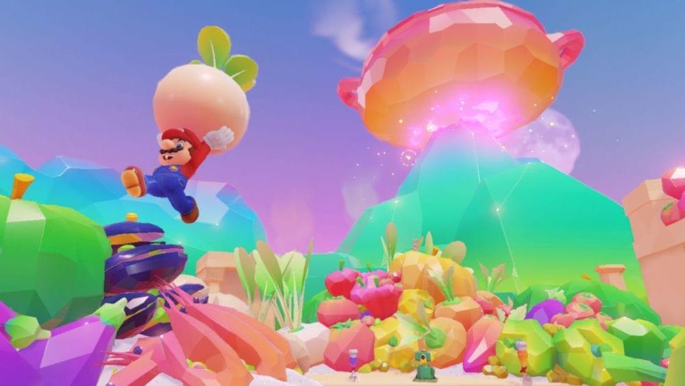 Super Mario Odyssey luncheon kingdom food