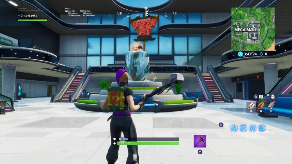 fortnite spray fountain location