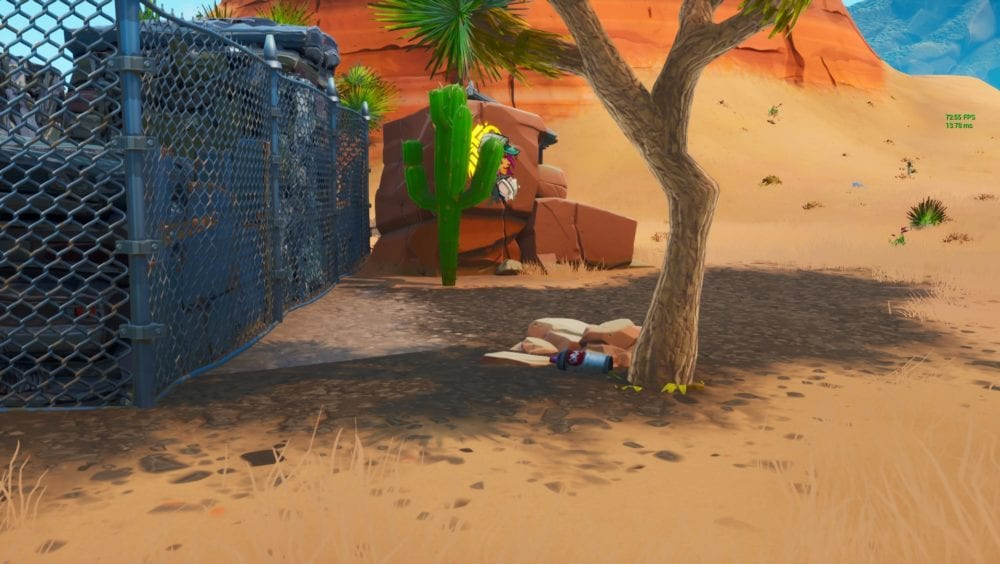 Fortnite lost spraycan locations