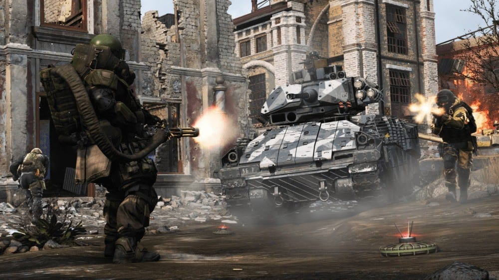 Call of Duty: Modern Warfare Ground War Will Support Over 100 Players