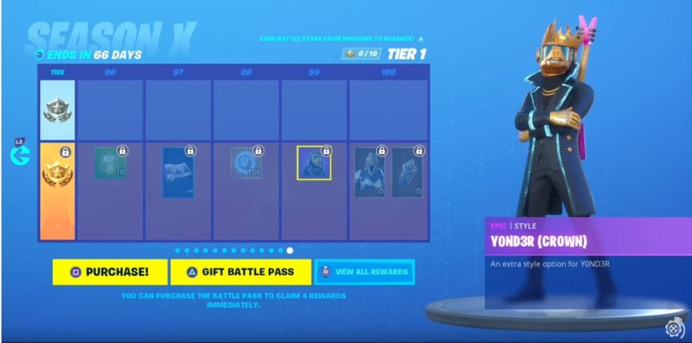 All Battle Pass Skins