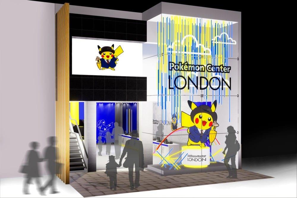 Pop-up Pokemon Center London mock up