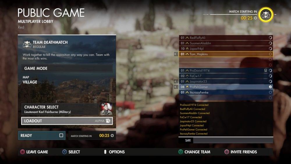 sniper elite 4, invite friends