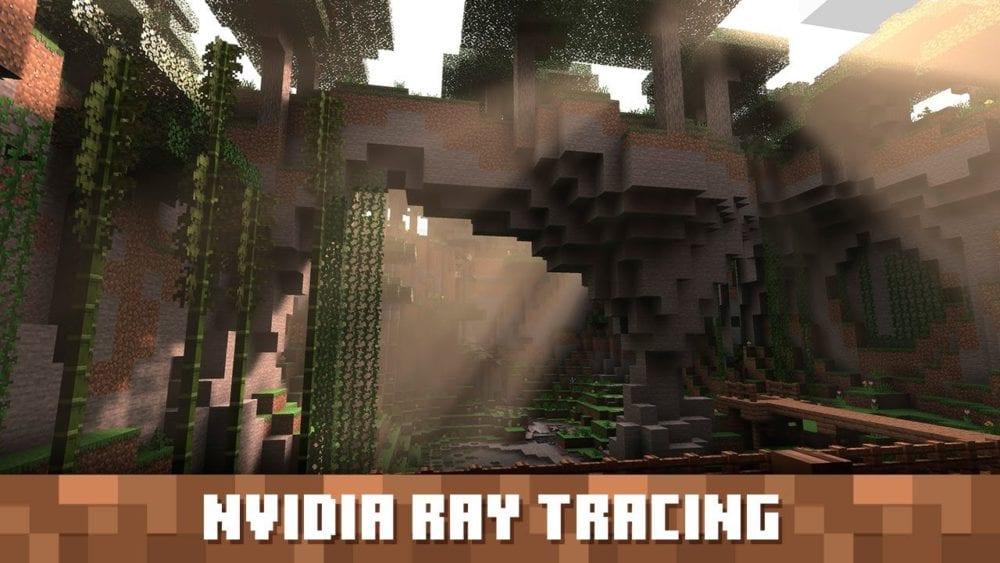 Minecraft RTX ray tracing