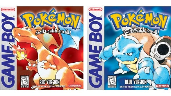 Pokemon Red & Blue