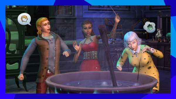 realm of magic, the sims 4
