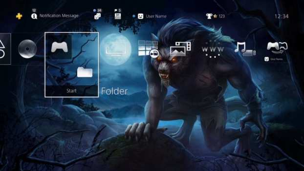 Midnight Werewolf HiQ Dynamic Theme