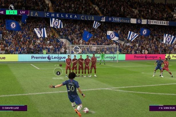 FIFA 20 free kicks