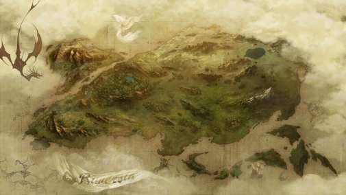 Brigandine The Legend of Runersia_World Map