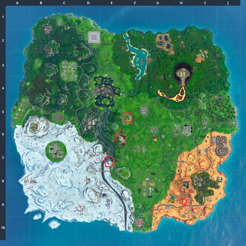 Fortnite Telescope Locations