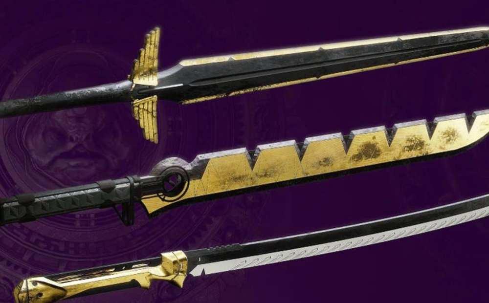 best swords, destiny 2