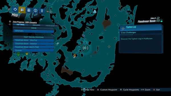 floodmore basin, crew challenge