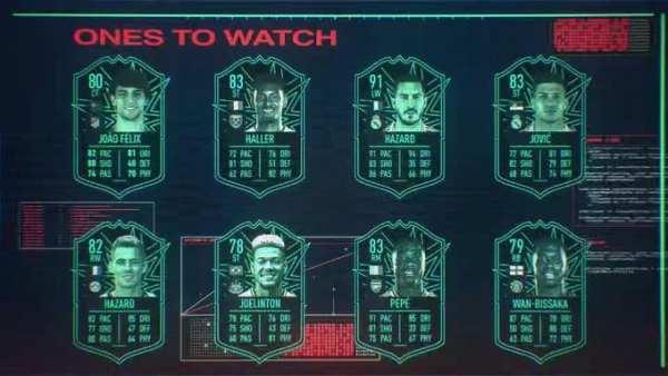 fifa 20, otw, ratings