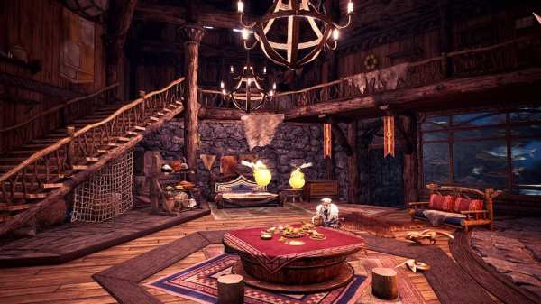seliana, gathering hub, decorate your room, things to do first, monster hunter