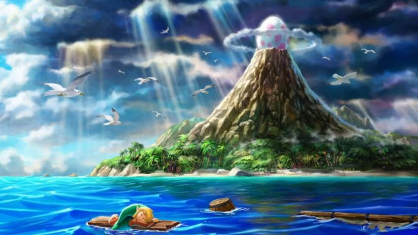 link's awakening, cool things that you can do, zelda, water rafting
