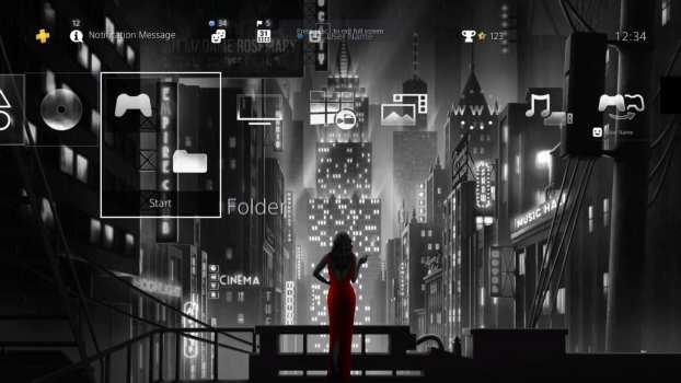 New Noir City HiQ Dynamic Theme