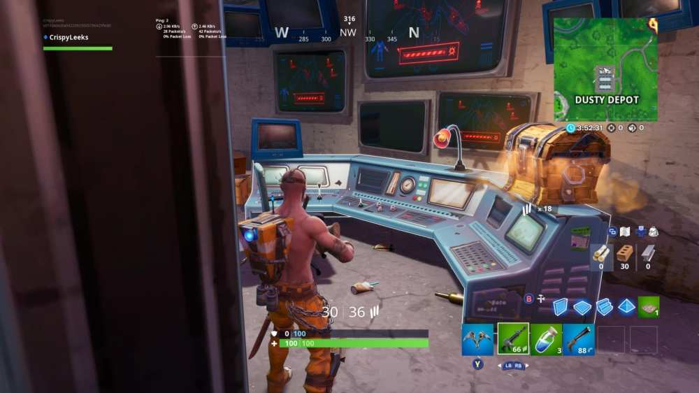 Fortnite white scientist outfit