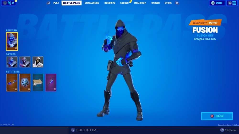 Fortnite Capítulo 2 Nivel 100 skin , Fortnite Fusion skin